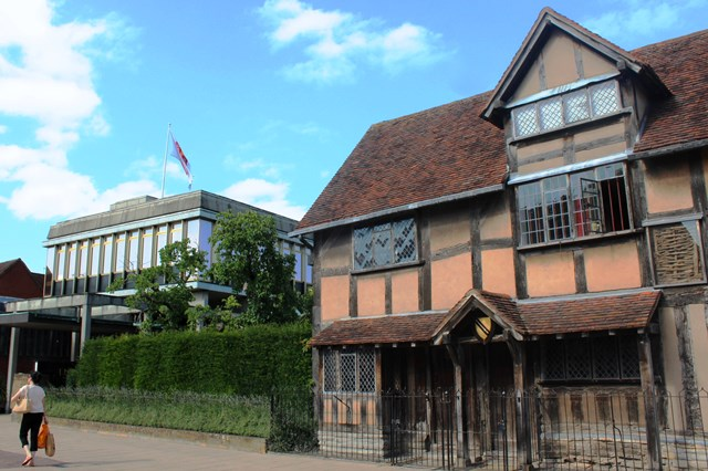 Shakespeare's Birthplace and The Shakespeare Centre Stratford - image zoedawes