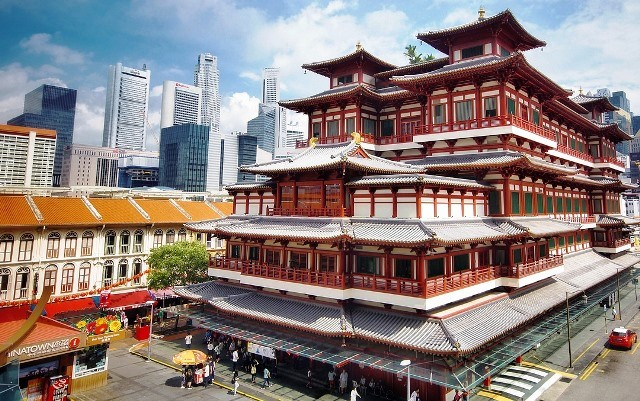 Singapore China Town - Buddhist Temple