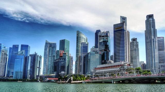 Singapore River skyline