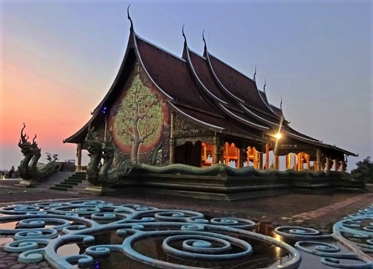 Sirindhorn Wararam Phu Prao Temple Thailand - Mind, Body, Spirit Travel