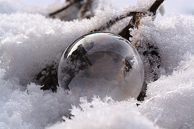 Snow globe world - winter quotes - The Quirky Traveller