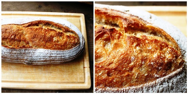Close up of sourdough bread - photography tips - zoedawes