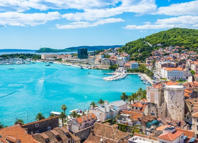 Romantic hotspots in Croatia - Split