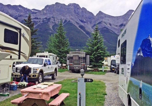 Spring Creek RV Campground - Banff Canada