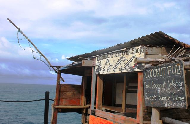St Kitts Coconut Pub Caribbean island - photo Zoe Dawes