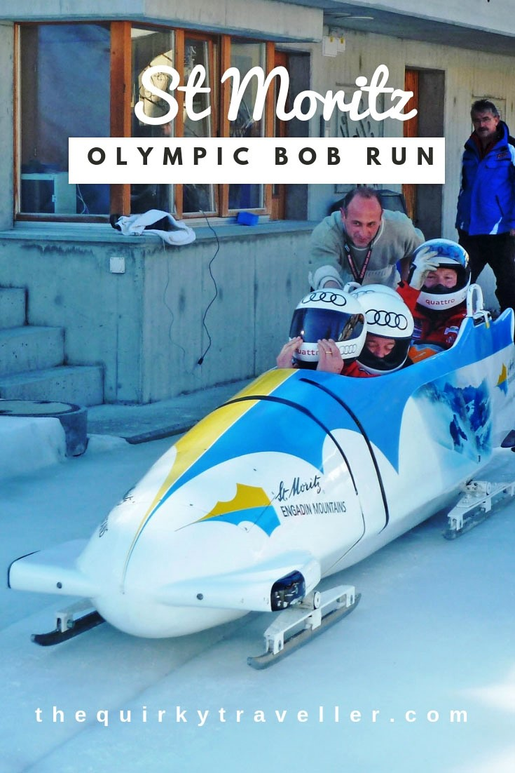 St Moritz Olympic Bob Run Switzerland