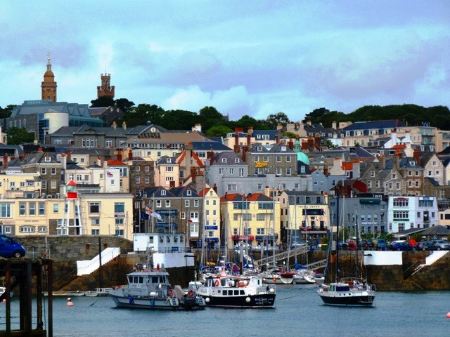 St Peter Port Harbour Guernsey
