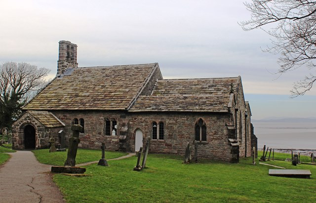 St Peter's Church Heysham Lancashire