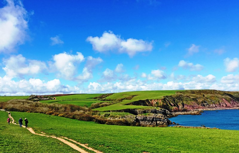Pembrokeshire Coast - Stackpole - photo Zoe Dawes