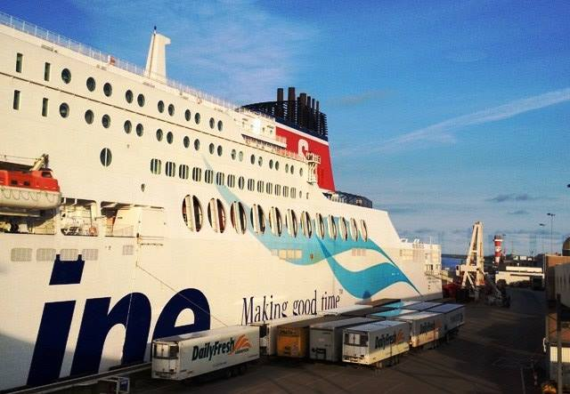 Stena ferry to Holland - zoedawes