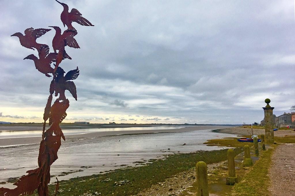 Sunderland Point - Morecambe Bay Lancashire - photo Zoe Dawes