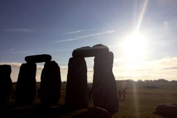 Sunrise over Stonehenge - photo Zoe Dawes