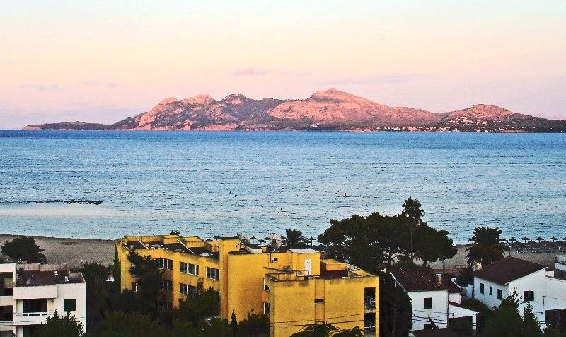 Sunrise over Bay of Alcudia - Puerto Pollensa Majorca
