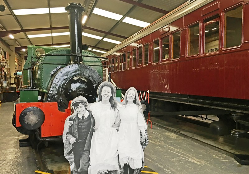The Railway Children - Ingrow West KVWR Yorkshire by Rail