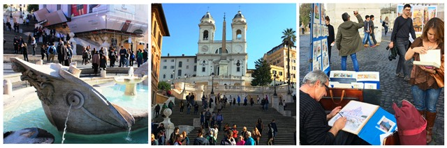 The Spanish Steps - 48 hours in Rome