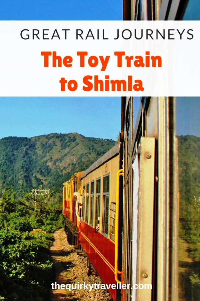 Take the Toy Train to Shimla - Pinterest image Zoe Dawes
