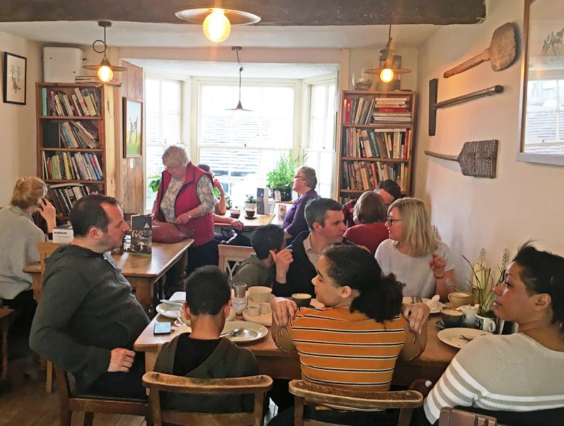 Three Hares Cafe Bistro Bakery Sedbergh - The Extra Mile - photo Zoe dawes