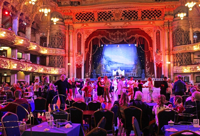 Afternoon Tea Dance at The Tower Ballroom Blackpool - photo zoedawes