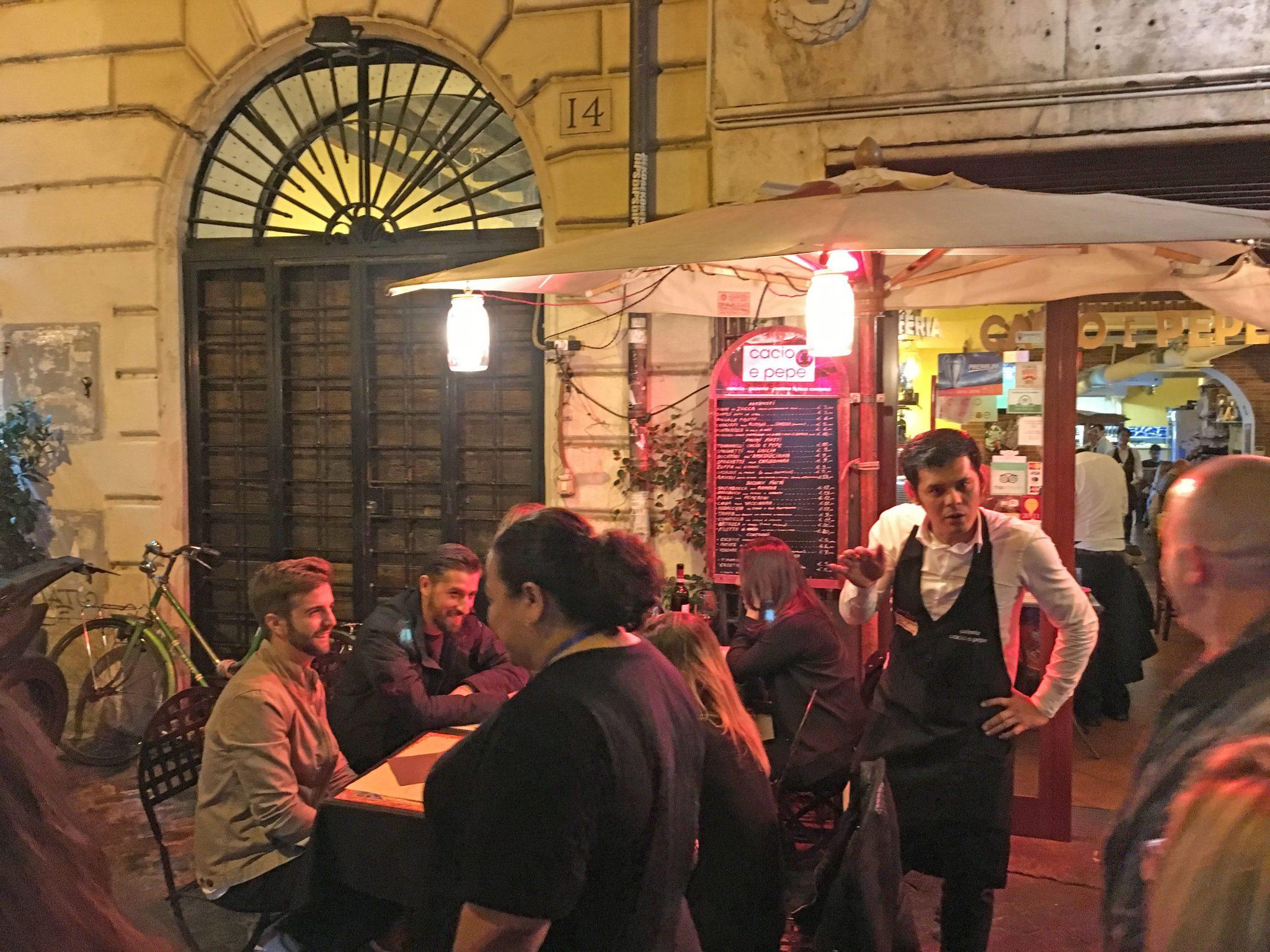 Trastevere Restaurant Rome