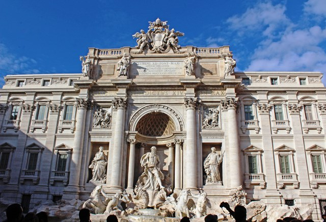 The Trevi Fountain - 48 hours in Rome - photo zoedawes
