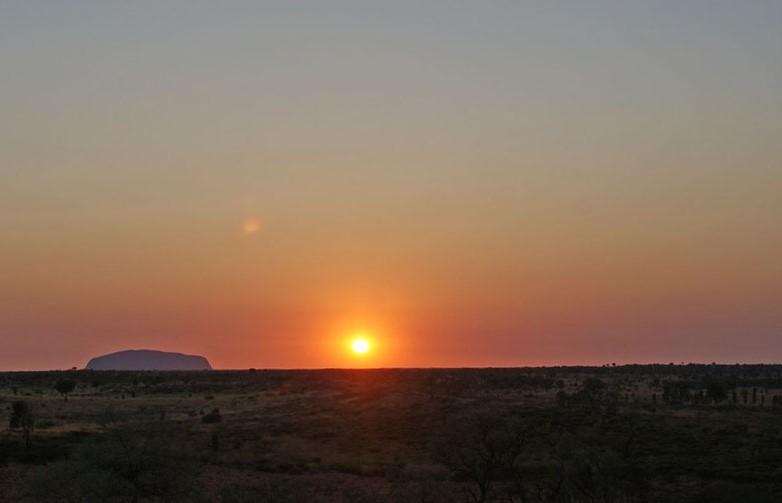 Uluru at sunrise - My 7 World Wonders - The Quirky Traveller