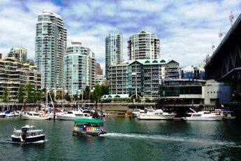 Vancouver Harbour from Granville Island Canada- photo Zoe Dawes