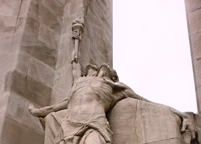 Vimy Ridge Memorial Figures WW1 France