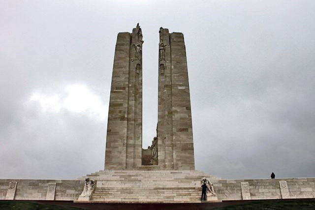 Vimy Ridge Memorial Canadian Soldiers WW1 France