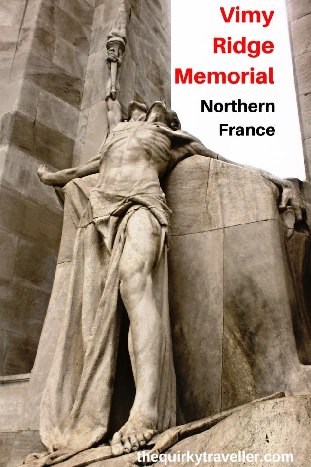 Vimy Ridge Memorial WW1 Northern France