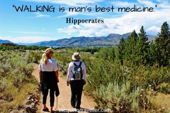 Walking is man's best medicine - Hippocrates - Top 3 health benefits of walking