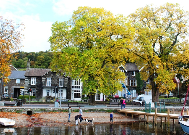 Waterhead at Ambleside - autumn in the Lake District - image zoedawes
