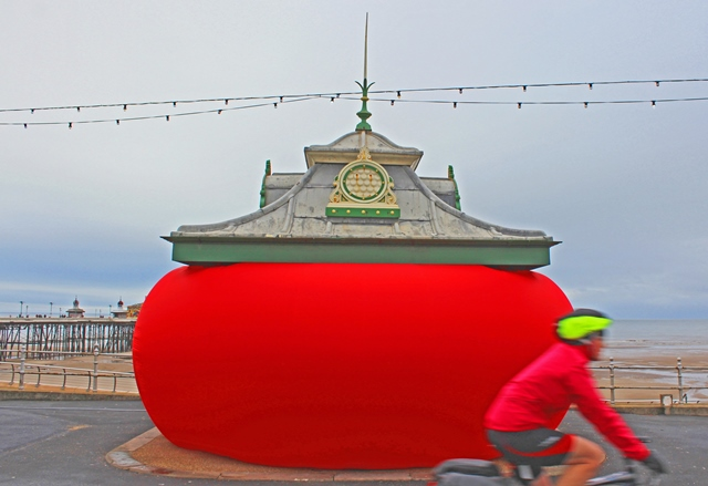 When the Red Rose Steve Messam - Lightpool - Blackpool - photo zoedawes