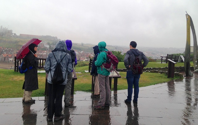 Whitby in the rain - HF Holidays - Yorkshire - photo zoedawes