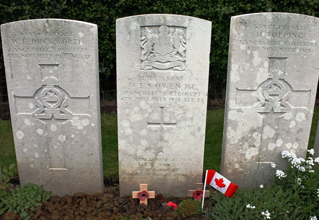 To France In Search Of Wilfred Owen Rip