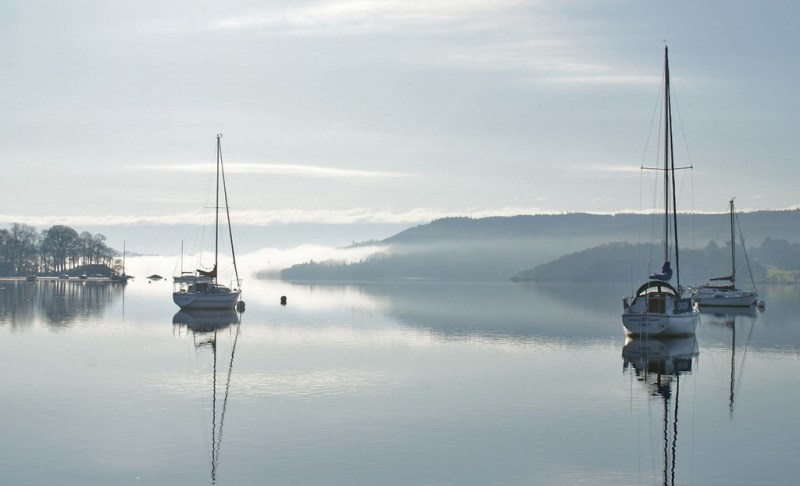 Windermere in the mist - The Quirky Traveller