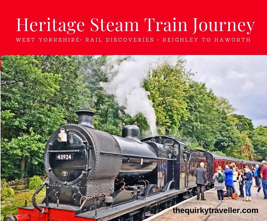 Heritage Steam Train - Yorkshire by Rail