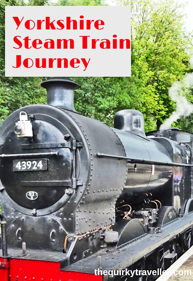 Yorkshire Steam Train journey with The Quirky Traveller