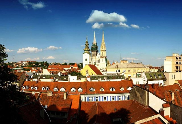 Romantic hotspots in Croatia - Zagreb
