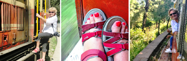 The Quirky Traveller on the Toy Train Kalka to Shimla